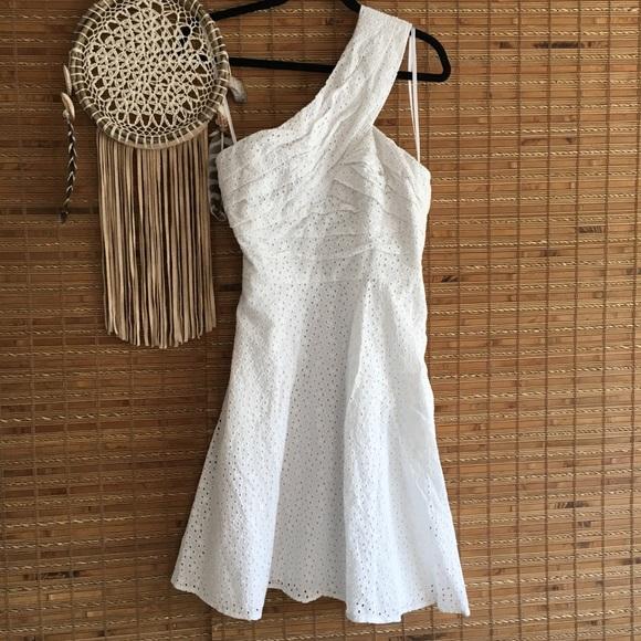 58e666354d Cato Dresses   Skirts - CATO •White One Shoulder•